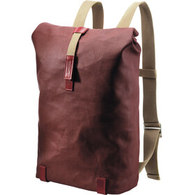 Brooks Pickwick Canvas Backpack 26L, chianti/maroon